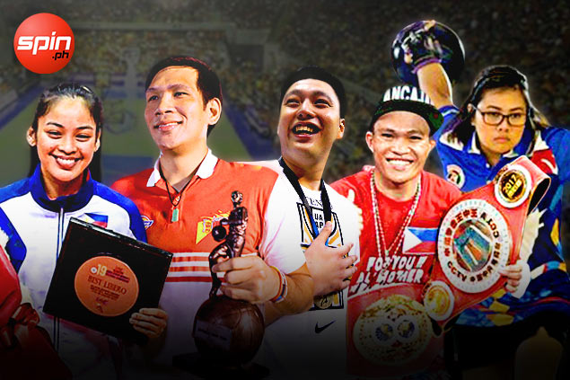 Fajardo, Ancajas, Tabora, Biado lead candidates for 2017 SPIN.ph Sportsman of the Year award