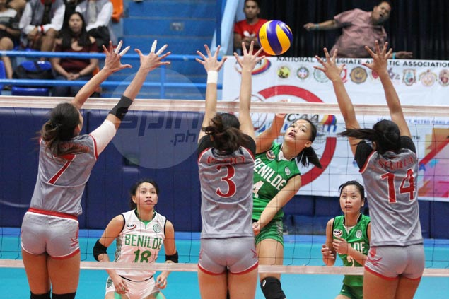St. Benilde overcomes slow start to beat Lyceum in five for share of NCAA lead