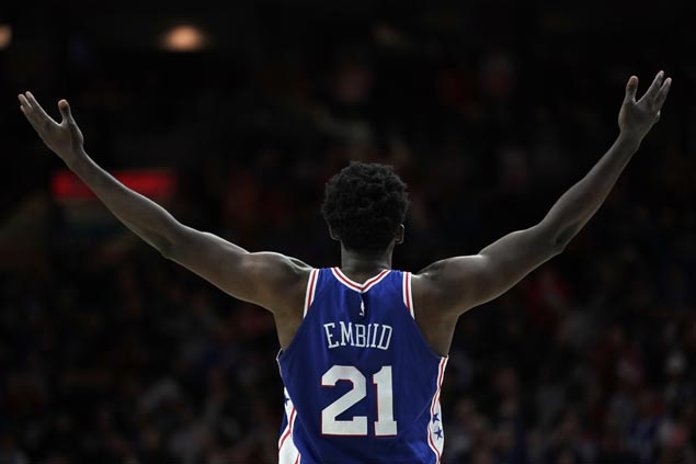 Joel Embiid aware a big performance in Sixers-Celtics London game will boost his All-Star bid