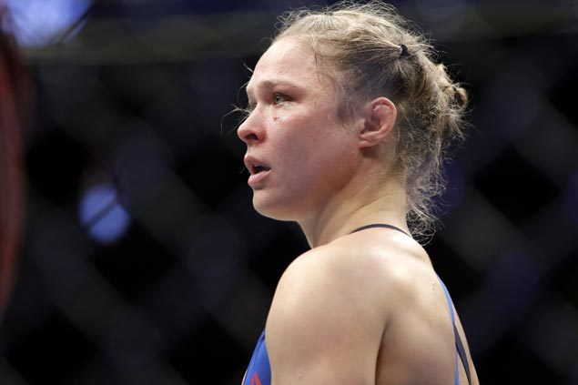 WWE continues to tease Ronda Rousey jump from MMA fighting to pro wrestling