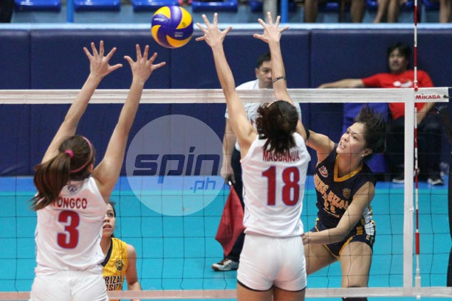 Shola Alvarez leads way anew as JRU downs EAC for back-to-back wins in NCAA volleyball