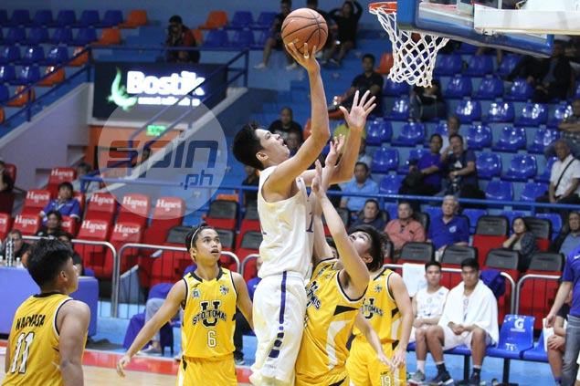Ateneo locks down CJ Cansino as Blue Eaglets tame Tiger Cubs to stretch unbeaten run to eight