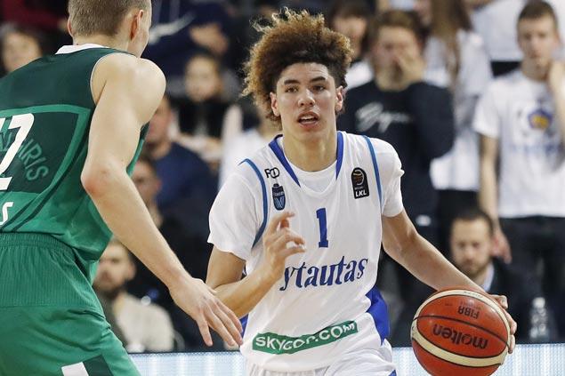 LiAngelo, LaMelo Ball shut out in Lithuanian pro debut