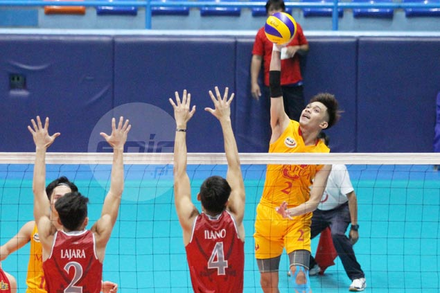 Mapua on a roll after starting season with a loss, keeps Lyceum winless in NCAA men's volleyball