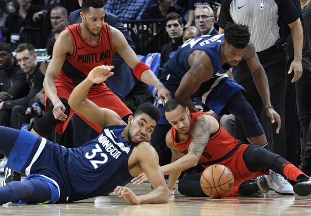 Timberwolves complete perfect five-game homestand with rout of Blazers