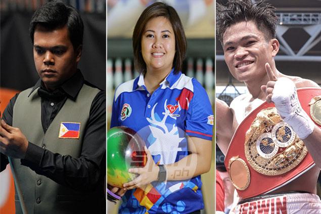 Jerwin Ancajas, Krizziah Tabora, Carlo Biado named 2017 PSA Athletes of the Year