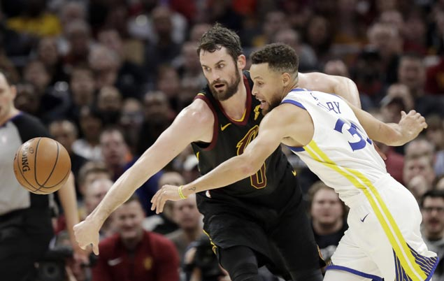 Warriors MVP duo of KD-Curry take charge to send Cavaliers to fourth straight loss