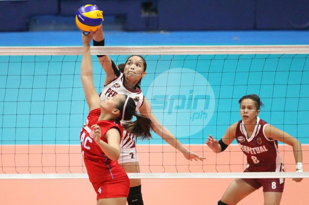 Perpetual Help survives another five-set thriller, edges out EAC Lady Generals in NCAA women's volley