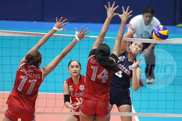Letran gets back on track in NCAA women's volley with four-set victory over Lyceum
