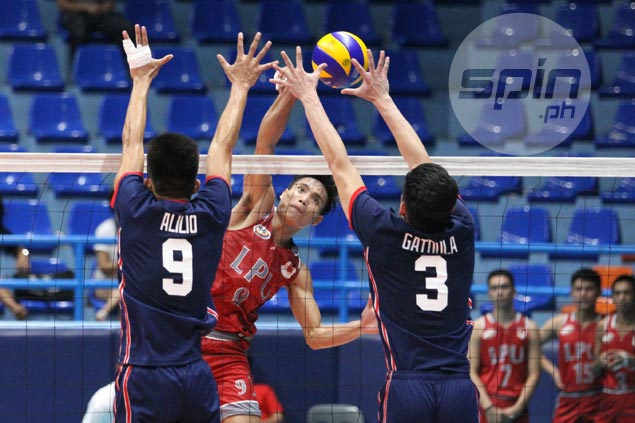 Lyceum downs Letran for first win as Perpetual beats EAC to gain share of NCAA men's volley lead