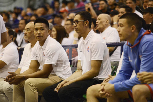 Miranda, Isip make coaching debuts in D-League, but ready to play if called upon