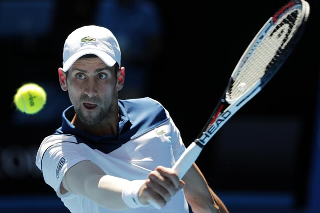 Novak Djokovic outlasts Gael Monfils as Angelique Kerber seals duel with Sharapova in Melbourne
