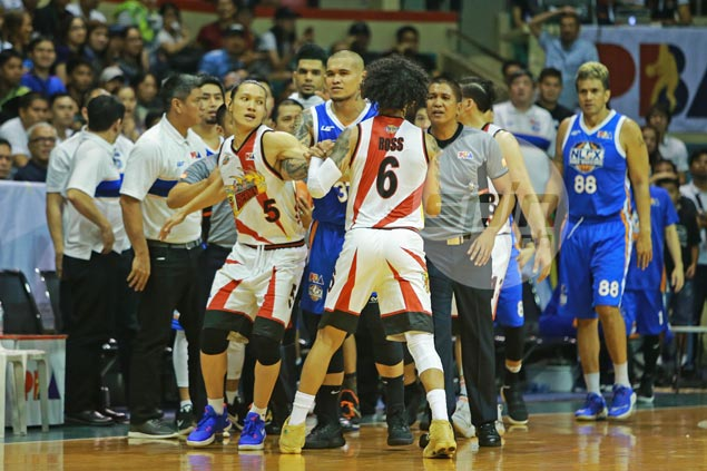 SMB coach claims a 'racist remark' by Yeng Guiao triggered Chris Ross outburst