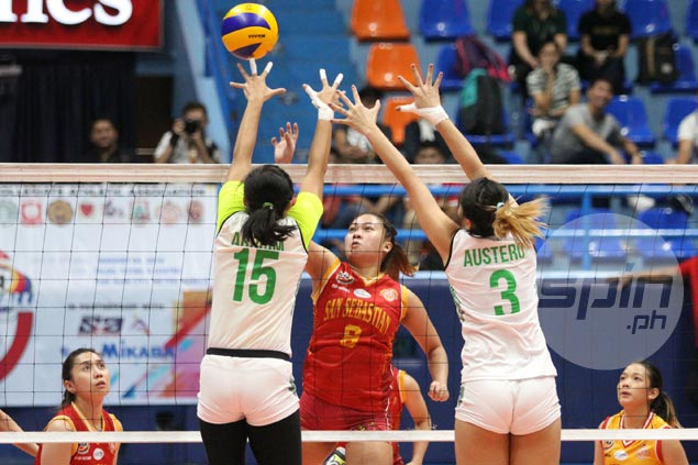 Shorthanded SSC Lady Stags stop two-game skid with four-set win over CSB Lady Blazers