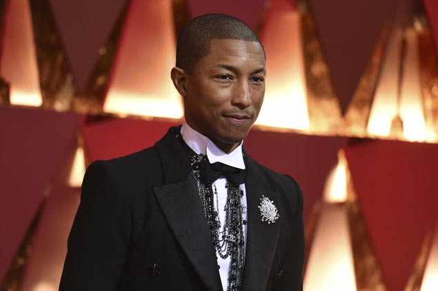 Pharrell, N.E.R.D headline stellar cast of performers in NBA All-Star Game