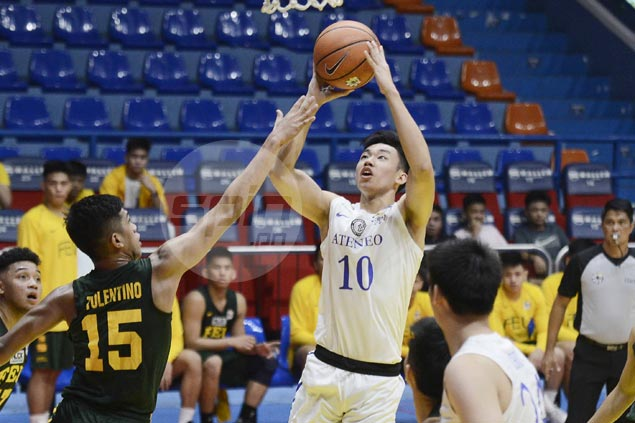 Ateneo Blue Eaglets preserve unblemished slate with squeaker over FEU Baby Tams