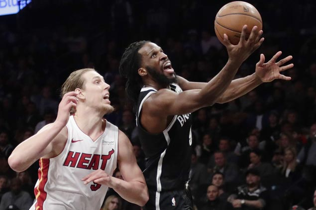 DeMarre Carroll takes charge as Nets end run of futility against Heat