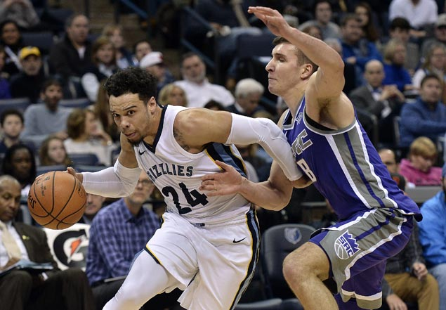 Rookie Dillon Brooks stars as Grizzlies defeat Kings to spoil Zach Randolph's return to Memphis