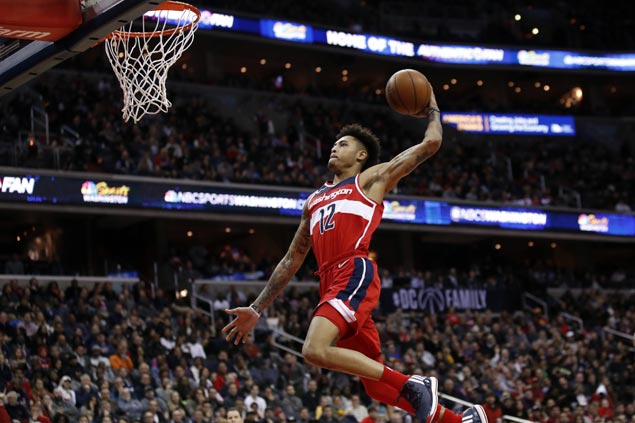 Kelly Oubre shines as Wizards score 45 in third then foil late Pistons rally