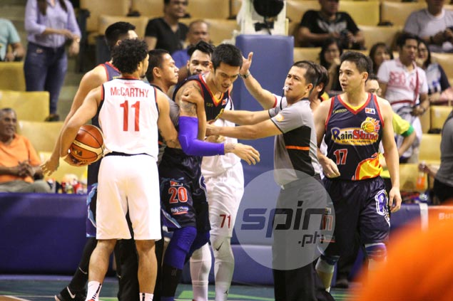 Almazan, Camson, Michael Miranda face possible suspensions, fines after scuffles