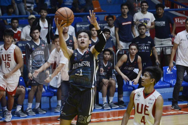Adamson overcomes tough challenge from lowly UE to gain share of third in UAAP Jrs