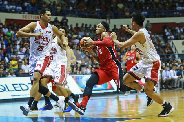 Abueva, Alaska go on a rampage to deal Ginebra second straight loss