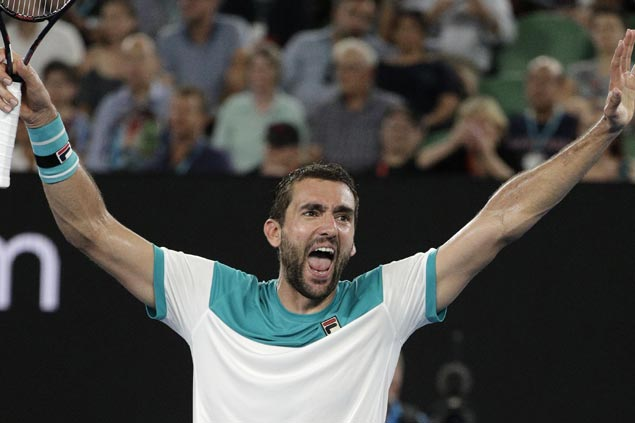 Marin Cilic ends Kyle Edmund's run at semi-final stage