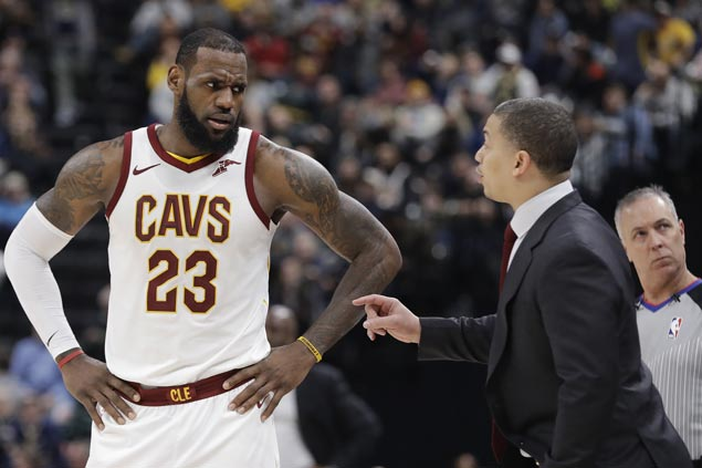Struggling Cavaliers not planning to fire head coach Tyronn Lue