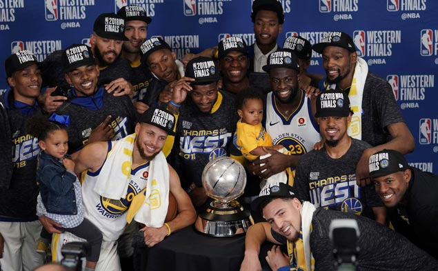 LeBron James isn't the only one involved in eight consecutive NBA Finals