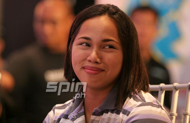 Weightlifter Hidilyn Diaz is granted the honor accorded boxing ...
