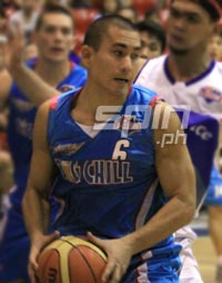 Thomas Tan, steady backcourt player. Photo by Jerome Ascano
