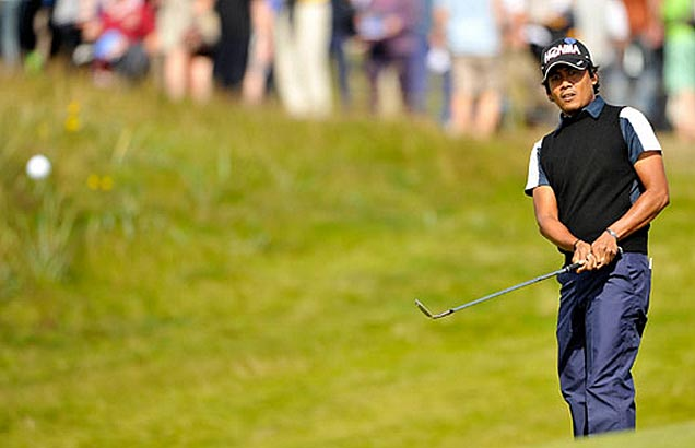 Pagunsan just one stroke off in Japan