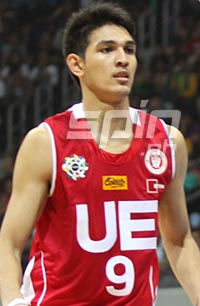 Adrian Santos, one of only two Warriors who have delivered significant numbers so far. Photo by Jerome Ascano