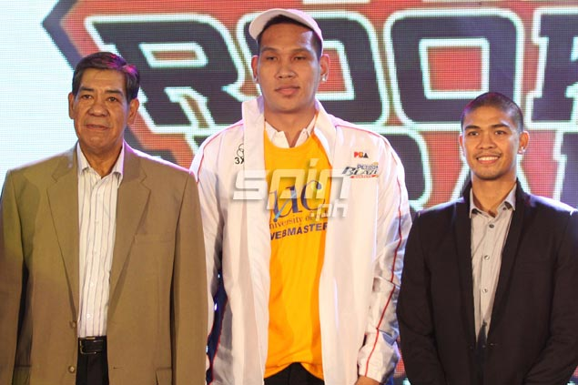 June Mar Fajardo is thrilled to become the head of a talented 39-man draft class. On whether he deserves the honor will be known when the season opens on September 30.  Jerome Ascano