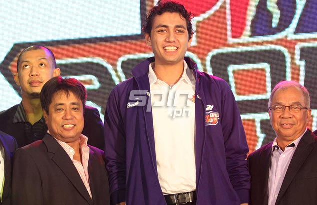 Yousef Taha is taken 11th overall by Air21, boosting the average height of the squad that is expected to become even bigger with the acquisition of Noy Baclao and Rob Reyes from Petron.Jerome Ascano