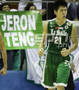 Jeron Teng sets records with his huge game against NU.