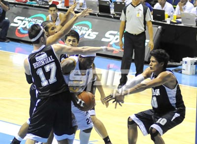 Adamson used this kind of defense, which turned out to be ineffective.