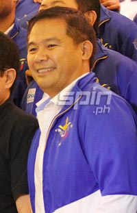 Chot Reyes expects to make three to four changes in the team bound for Japan. Photo by Jerome Ascano