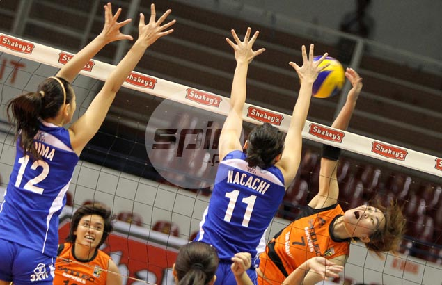 Sandugo, Cagayan start V-League title series