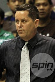 Tim Cone has a chance to tie or even surpass Baby Dalupan's record of 15 titles this season. Photo by Jerome Ascano