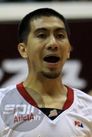 LA Tenorio is set to inherit the starting point guard spot from Jayjay Helterbrand. Photo by Jerome Ascano