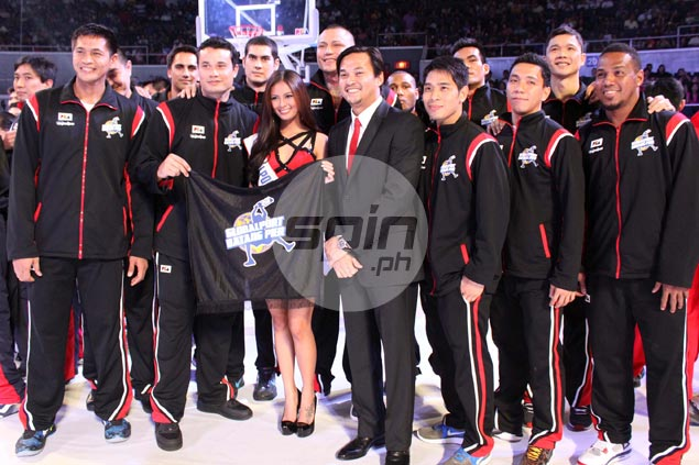 The Batang Pier are hoping to make a statement in their first season