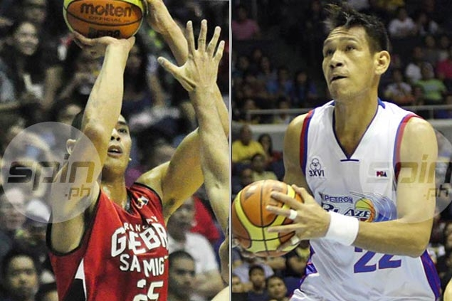 Ginebra Star Japeth Aguilar Are In A Close Game For The Best Player Of