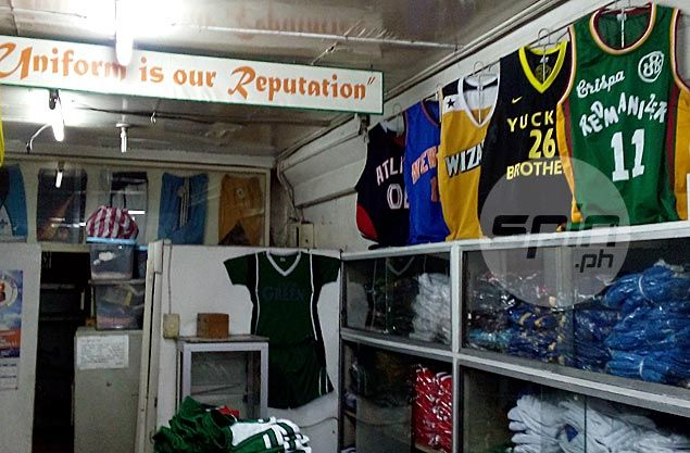 185db31bbca Before Nike, adidas, Accel, Atleta or Titan, Allandale Sportswear in Recto,  Manila was the uniform maker of choice for the PBA's top teams like Crispa.