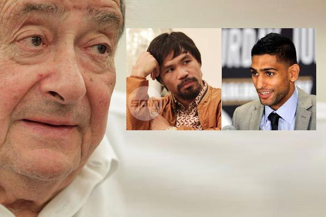 Manny Pacquiao bares negotiations for fight vs Amir Khan, but Bob Arum skeptical