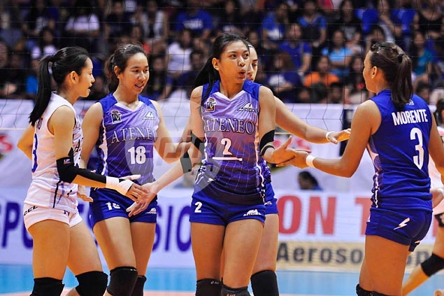 HIGHLIGHTS: Ateneo vs La Salle (UAAP 77 Volleyball Finals Game 2)