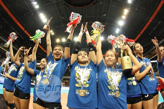 Ateneo's Lady Eagles complete dream run to first UAAP women's volleyball championship with rout of De La Salle