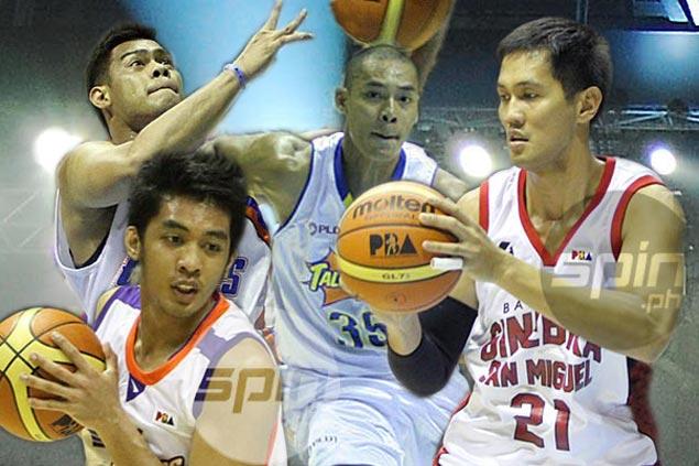 Players like Nonoy Baclao, Ronjay Buenafe, Japeth Aguilar, and Kerby