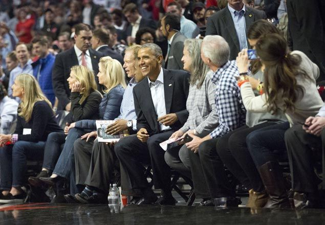 Hoops fan Obama not expected to attend games during PH visit. But will he play golf?
