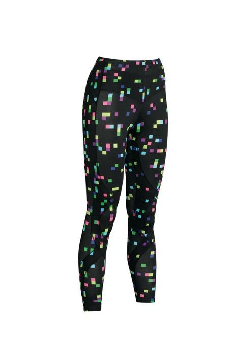 Gear of Choice: CW-X Women's Stabilyx Squares Compression Wear (P6,195) – Ladies, these compression tights allow a full range of motion while optimizing blood flow to the working muscles, and it comes in a cool design.